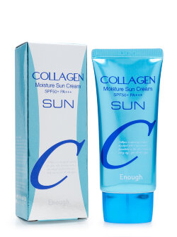 Солнцезащитный крем Enough Collagen Moisture Sun Cream SPF50+ PA+++