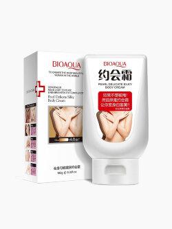 Крем-консилер для тела Bioaqua Pearl Delicate Silky Body Cream
