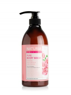 Гель для душа Naturia Pure Body Wash Rose & Rosemary