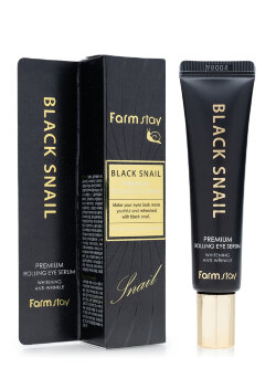 Сыворотка для век FarmStay Black Snail Premium Rolling Eye Serum