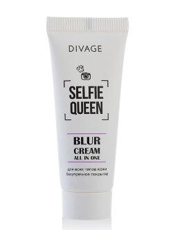 Основа под макияж Divage Selfie Queen Blur Cream All In One