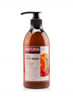 Гель для душа Naturia Pure Body Wash Cranberry & Orange