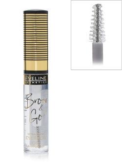 Гель для бровей Eveline Brow & Go Ultra Fixing Eyebrow Gel