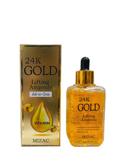 Сыворотка для лица Mizac 24K Gold Lifting Ampoule All-In-One
