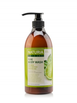 Гель для душа Naturia Pure Body Wash Wild Mint & Lime