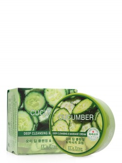 Крем для лица и тела Cellio It`s True Deep Cleansing & Massage Cucumber Cream