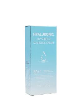 Крем для лица FarmStay Hyaluronic UV Shield Sun Block Cream SPF50+