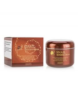 Крем для лица Jigott Snail Repairing Cream