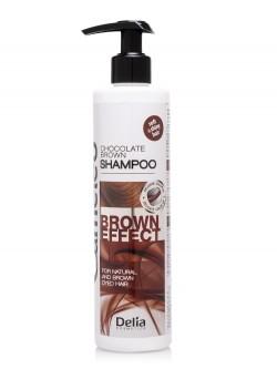 Шампунь для волос Delia Cameleo Chocolate Brown Shampoo