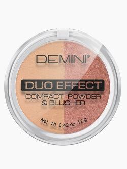 Пудра для лица Demini Duo Effect Compact Powder & Blusher