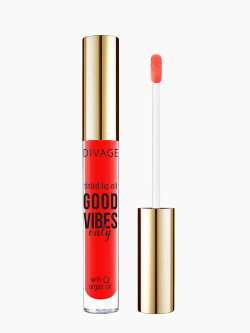 Масло блеск для губ Divage Good Vibes Only Tinted Lip Oil