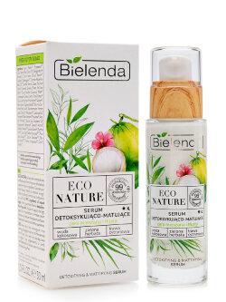 Сыворотка для лица Bielenda Eco Nature Detoxifying & Mattifying Serum
