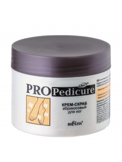 Крем-скраб для ног Bielita Pro Pedicure Абрикосовый