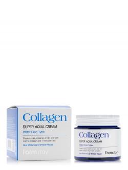 Крем для лица FarmStay Collagen Super Aqua Cream Water Drop Type