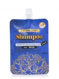 Шампунь для волос Our Herb Story Shampoo For Man 2 In 1