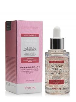 Сыворотка для лица Branig Hyaluronic Premium Anti-Wrinkle Ampoule Serum