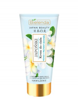 Крем для тела Bielenda Japan Beauty Японский Монои и протеины шелка
