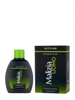 Гель для интимной гигиены Malizia UOMO Vetyver Intimate Wash