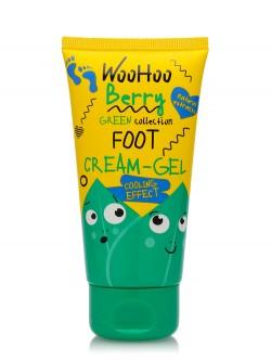 Крем-гель для ног WooHoo Berry Green Collection Foot Cream- Gel Cooling Effect