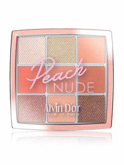 Тени для век Alvin D`Or Peache Nude 9 Colors