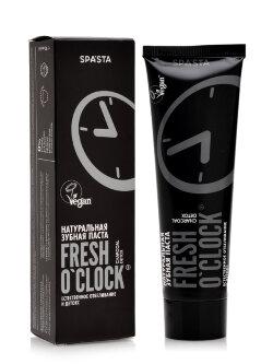 Зубная паста Spasta Fresh O`Clock Charcoal Detox