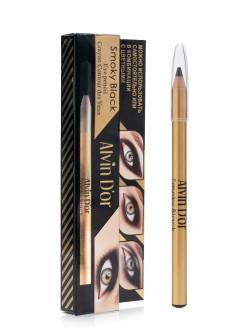 Карандаш для век Alvin D`Or Smoky Black Eye Pencil Caryon Contour Des Yeux