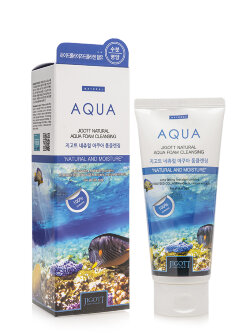 Пенка для умывания Jigott Natural Aqua Foam Cleansing