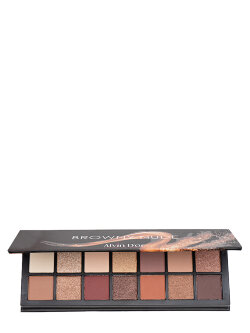 Alvin D`Or Browny Nude 14 Colors Eyeshadow Palette