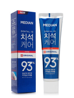 Зубная паста Median Dental IQ Toothpaste Original Blue