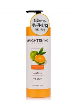 Гель для душа KeraSys Shower Mate Brightening Green Tangerine Body Wash