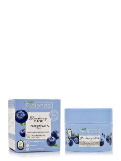 Крем-мусс для лица Bielenda Blueberry C-Tox Face Cream Foam