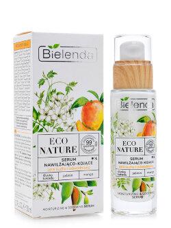Сыворотка для лица Bielenda Eco Nature Moisturizing & Soothing Serum