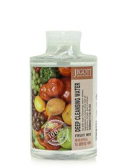 Жидкость для снятия макияжа Jigott Deep Cleansing Water Fruit Mix