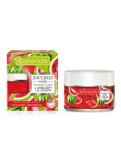 Маска для лица Bielenda Juicy Jelly Mask С арбузом и алоэ