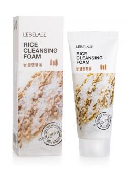 Пенка для умывания Lebelage Rice Cleansing Foam