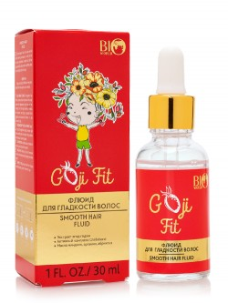 Флюид для гладкости волос Bio World Goji Fit