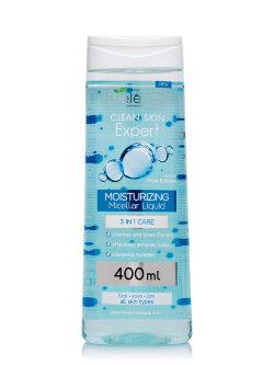 Мицеллярная вода Bielenda Clean Skin Effect Moisturizing Micellar Liquid