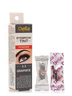 Краска для бровей Delia Eyebrow Tint Powder