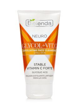 Эмульсия для лица Bielenda Neuro Glycol+Vit.C Exfoliating Face Cleansing Emulsion