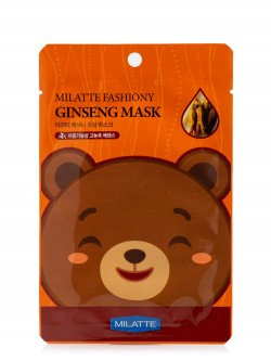 Маска для лица Milatte Fashiony Ginseng Mask Sheet