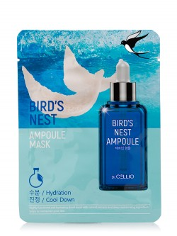 Маска для лица Cellio Bird`s Nest Ampoule Mask