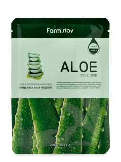 Маска для лица Farm Stay Aloe Visible Difference Mask Sheet