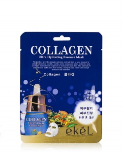 Маска для лица Ekel Collagen Ultra Hydrating Essence Mask