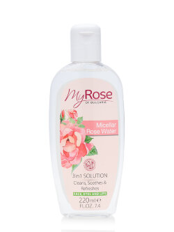 Мицеллярная вода My Rose Of Bulgaria Rose Water 3 in 1