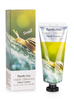 Крем для рук FarmStay Visible Difference Snail Hand Cream