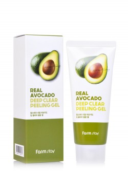 Пилинг-гель для лица FarmStay Real Avocado Deep Clear Peeling Gel