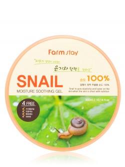 Гель для тела FarmStay Snail Moisture Soothing Gel