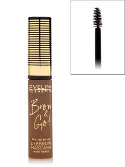 Тушь для бровей Eveliene Brow & Go! Eyebrow Mascara