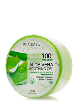 Гель для лица и тела Juno Beaumyr 100% Aloe Vera Soothing Gel
