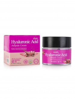 Крем для лица Ekel Hyaluronic Acid Ampoule Cream